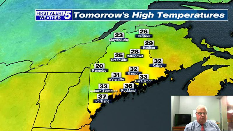 Rain & Mix Ending this Evening, Bright, Blustery & Cold Tuesday