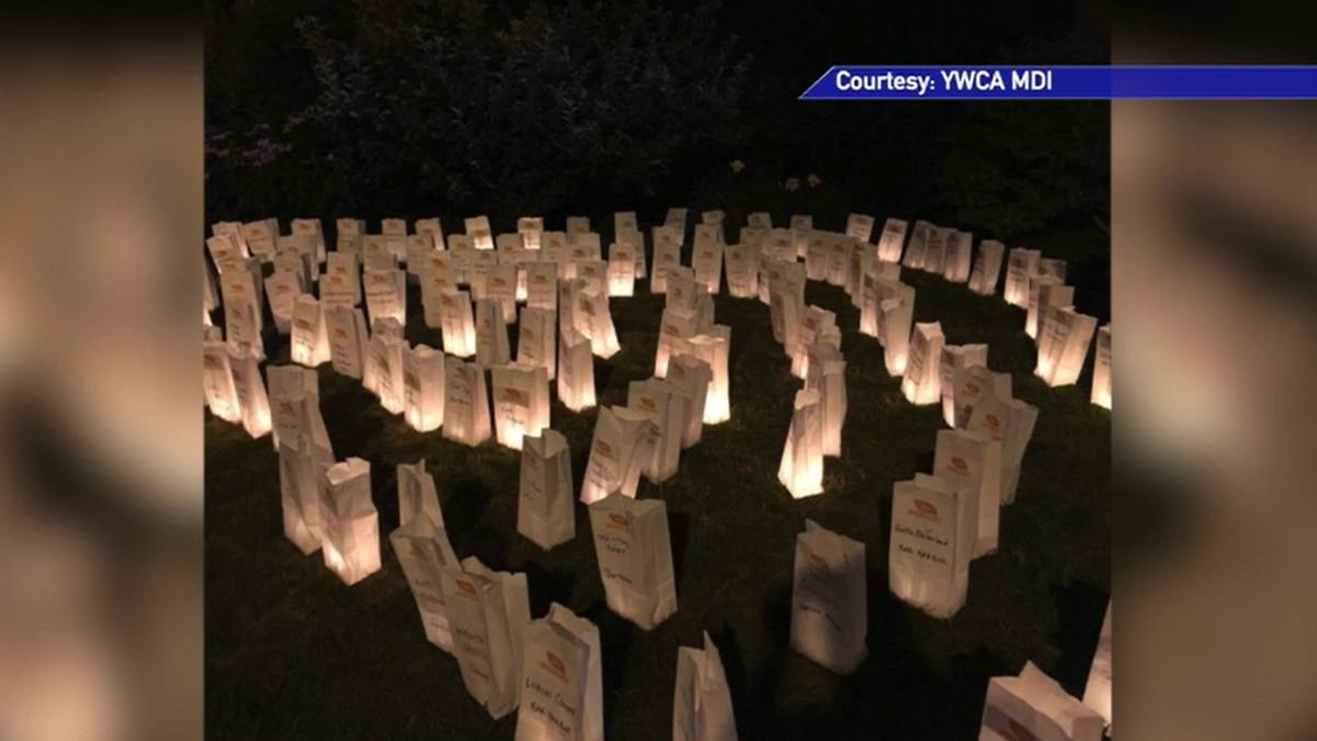 Annual Carol Dyer Luminaria lighting