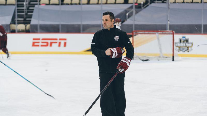 New UMaine head men's hockey coach