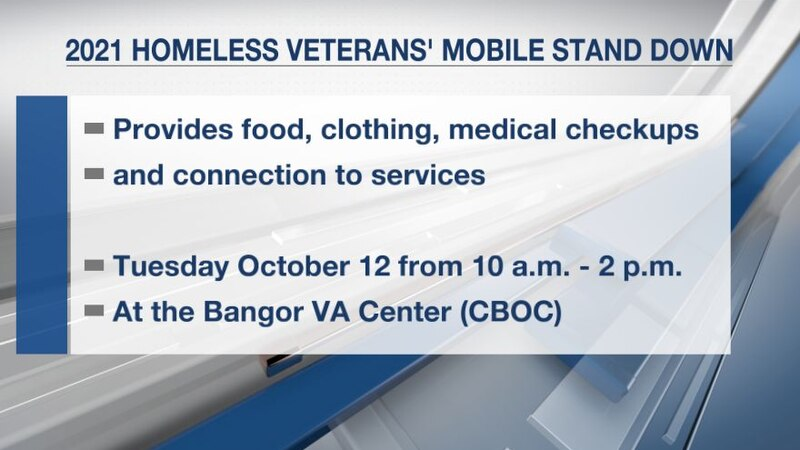 The event provides food, clothing, medical checkups and connection to services for homeless...