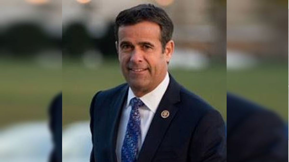 President Donald Trump nominates John Ratcliffe to be director of national intelligence (Source: US House of Representatives)