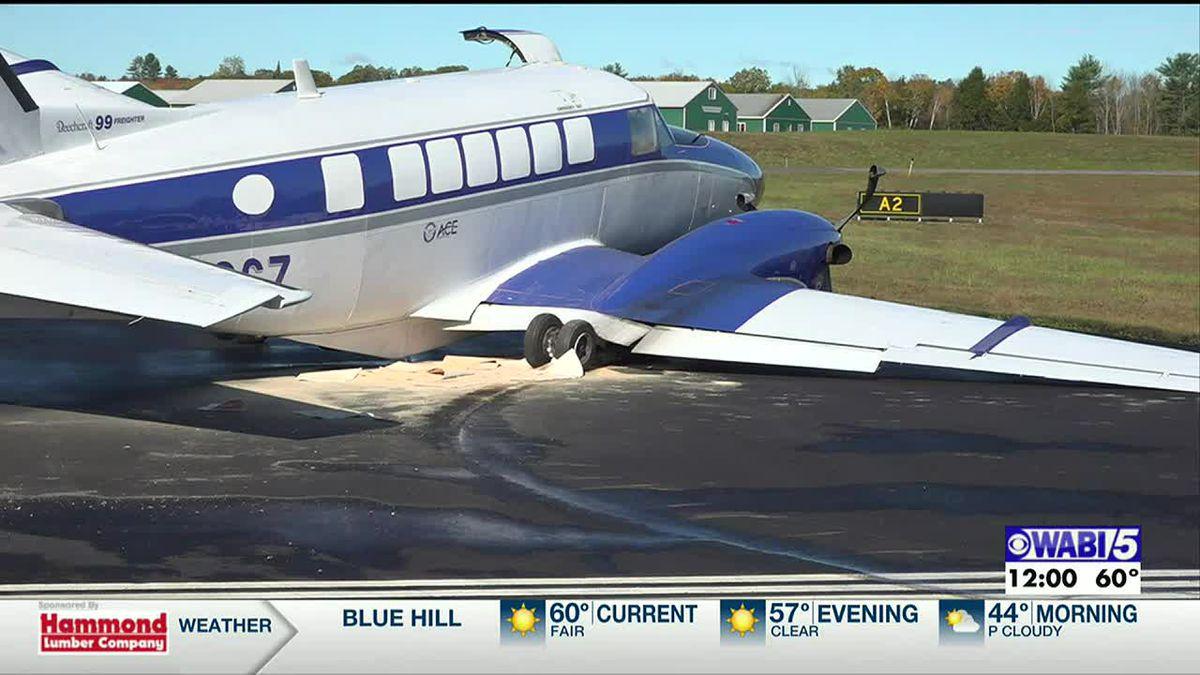Plane Crash In Waterville