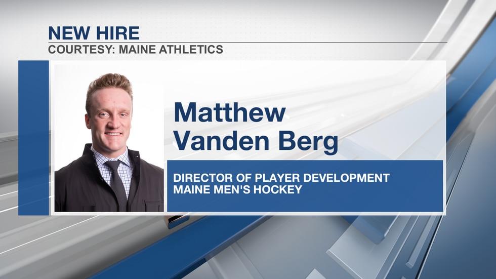Black Bears add Matthew Vanden Berg to staff