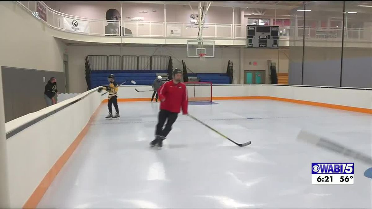 Waterville adds new synthetic rink to allow kids to skate, working on new ice rink
