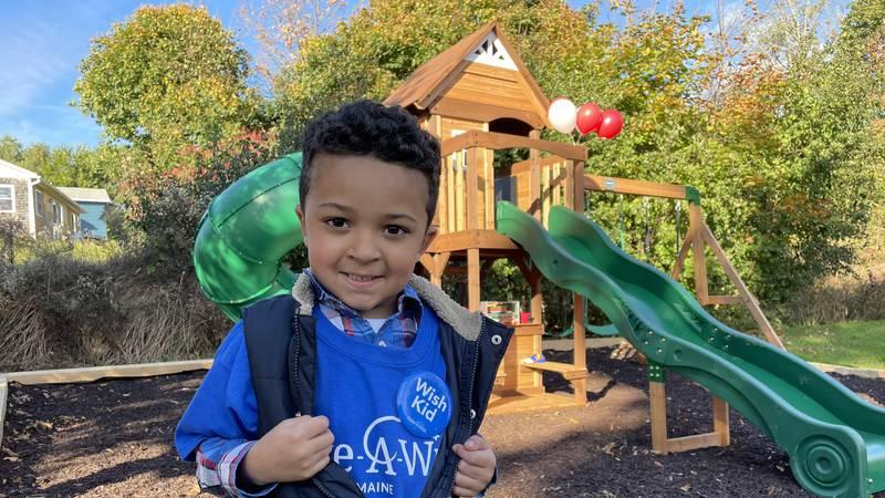 Five-year-old Zavier has battled leukemia.