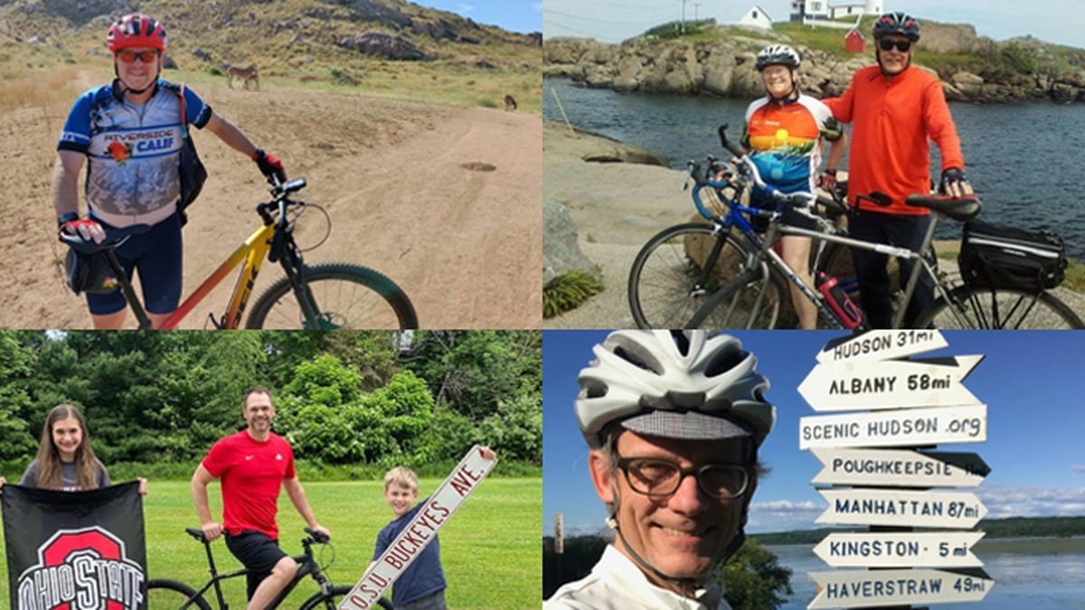 Cyclists from across the U.S. participated in this year's virtual Trek Across Maine that raised...