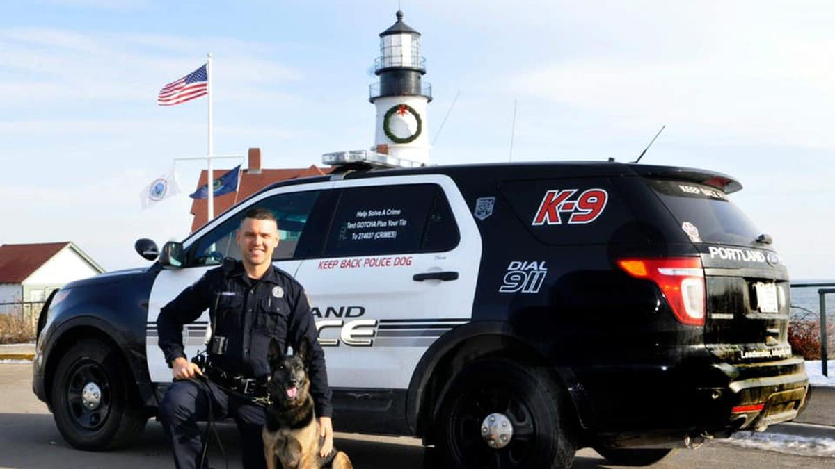 The Portland Police Department says retired explosive detection K-9 Trixie was euthanized...