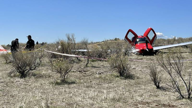 Two airplanes collided mid-air over Cherry Creek State Park in Colorado, officials said.