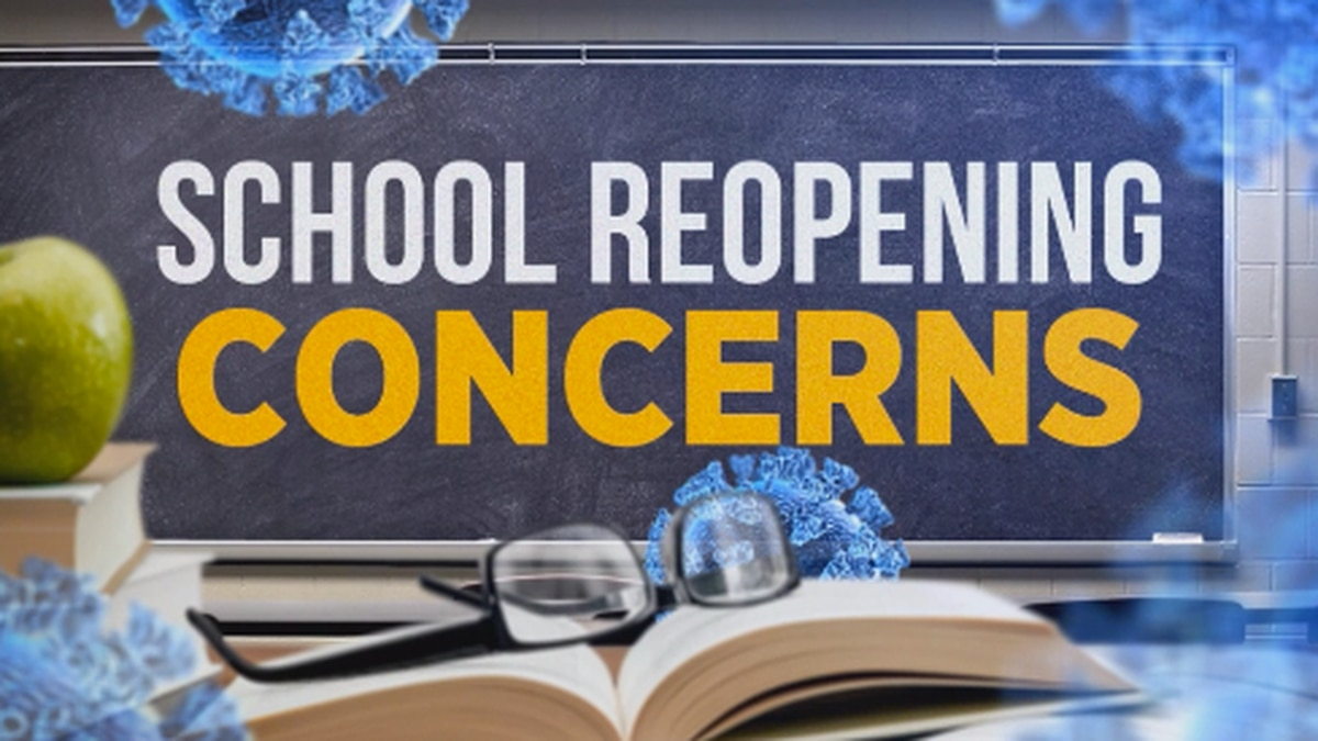 With a little over a month left to go before school starts back -- state education leaders are still finalizing plans for what that will look like. This has many parents concerned.