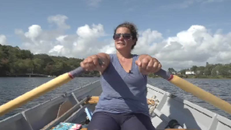 Her tours focus on teaching and sharing her love of rowing and being on the water, while...