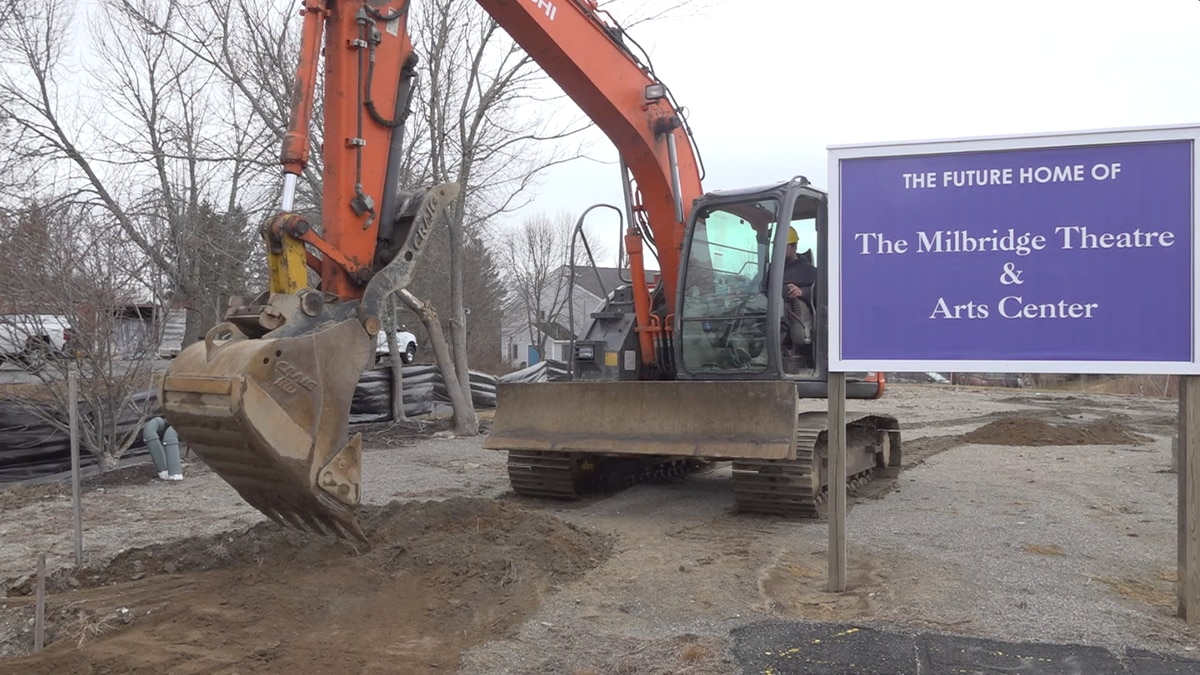 The New Theatre and Arts Center is expected to be completed by 2022.