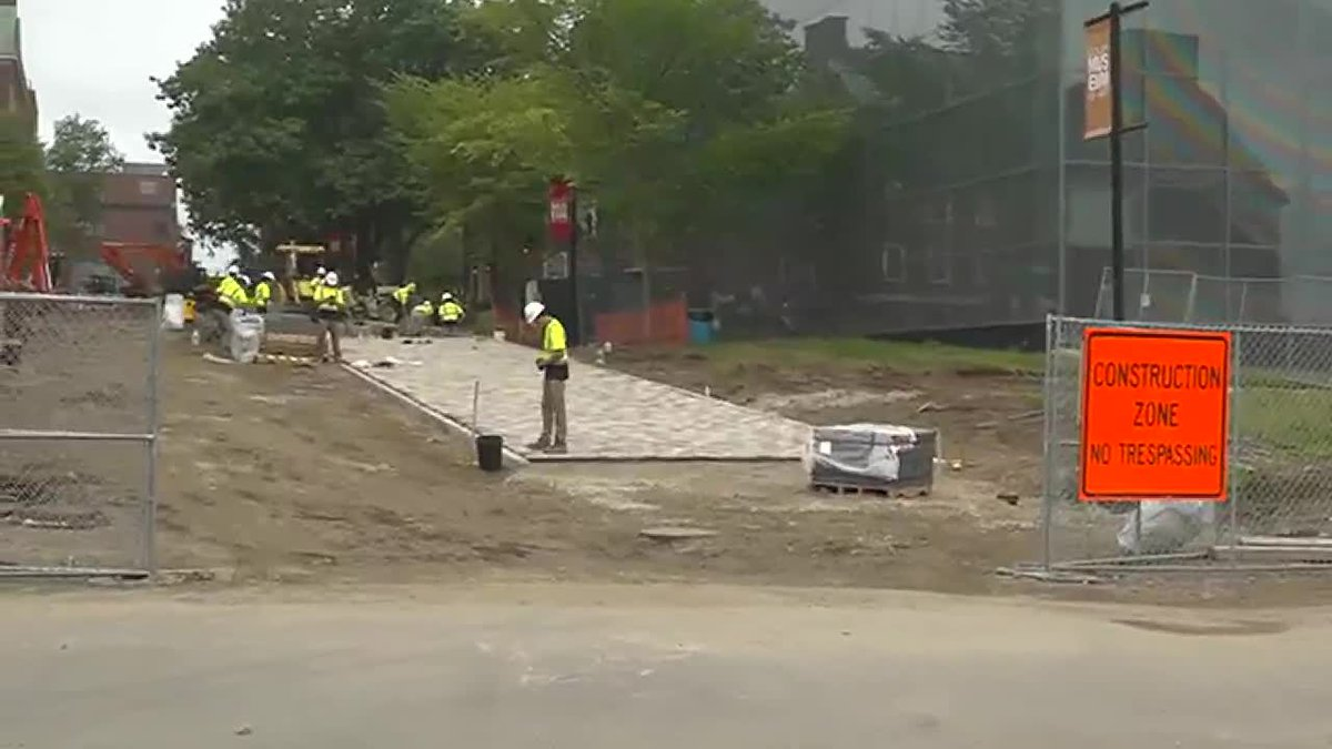 Colby College Construction