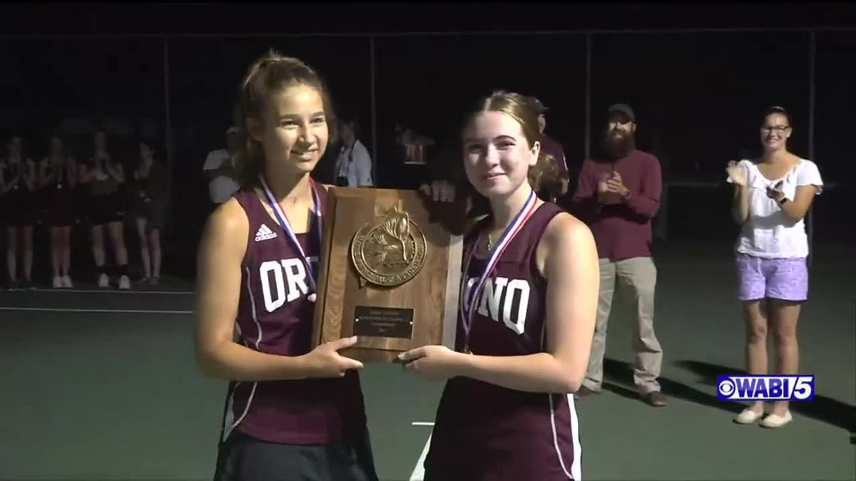 Orono girls tennis relishing chance for a state title