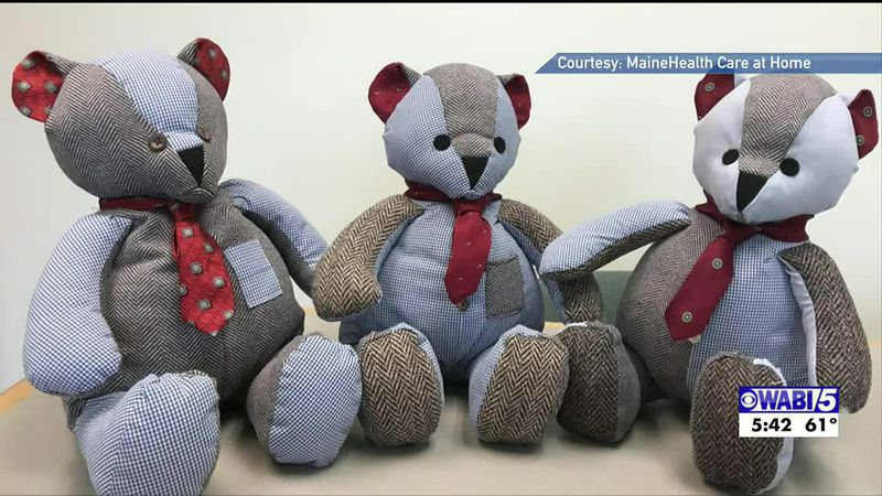 Teddy bears provide comfort for those who've lost loved ones