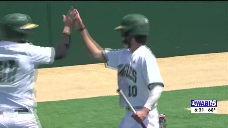 Husson Baseball sweeps Thomas in NAC Semifinals