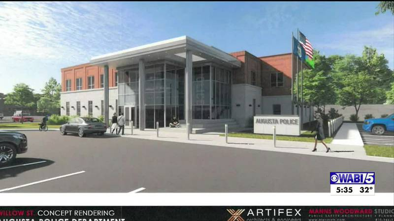 Augusta City Council chooses spot for new police station.