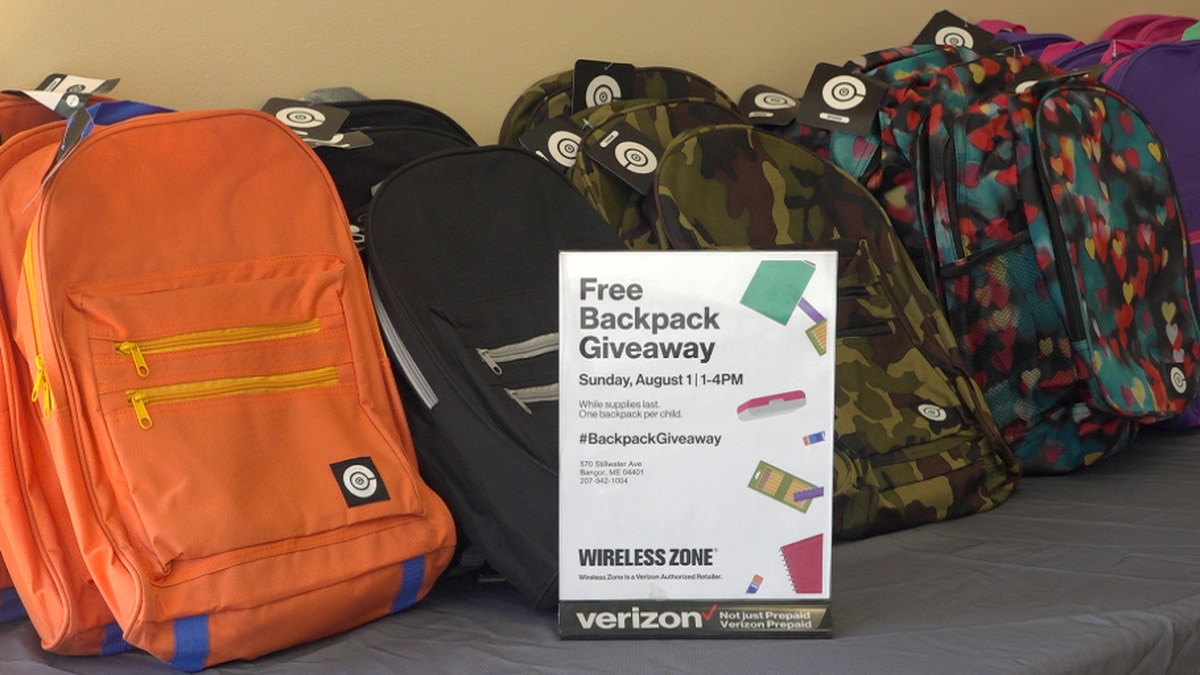 Verizon backpack giveaway