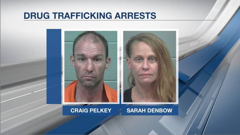 Authorities say they'd been tracking the couple for months.