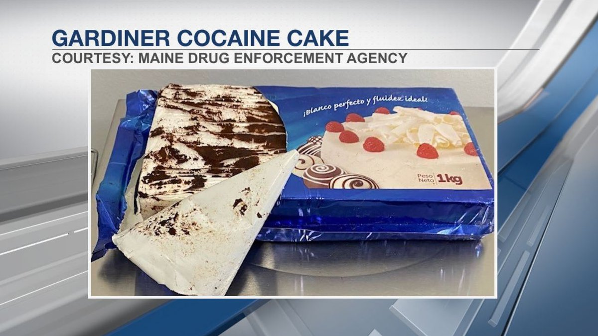 Cocaine disguised as cake