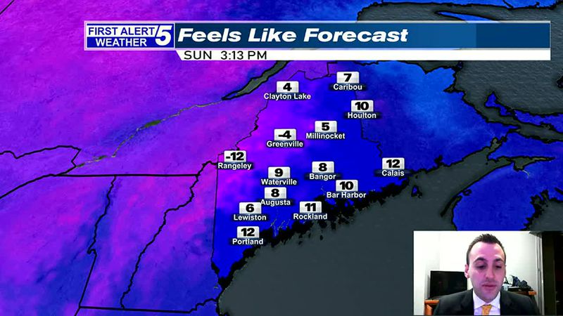 Partly to Mostly Sunny, Windy & Cold Today