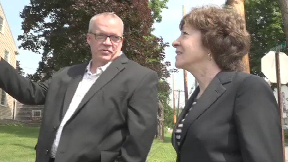 Two major projects are ongoing in Searsport.