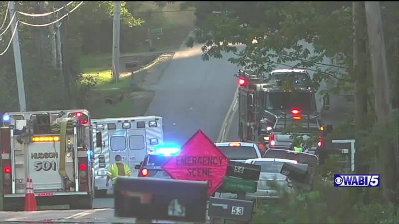 Crash in Glenburn sends three to hospital