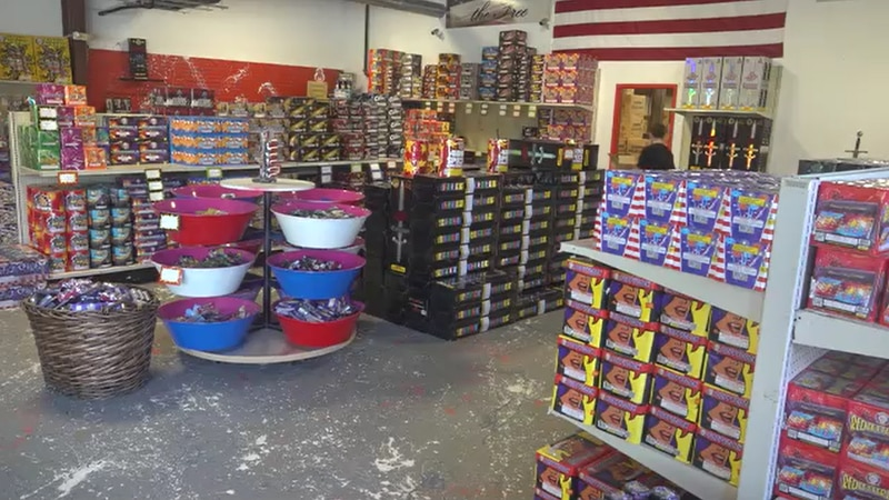 It's the busy season for fireworks shops.