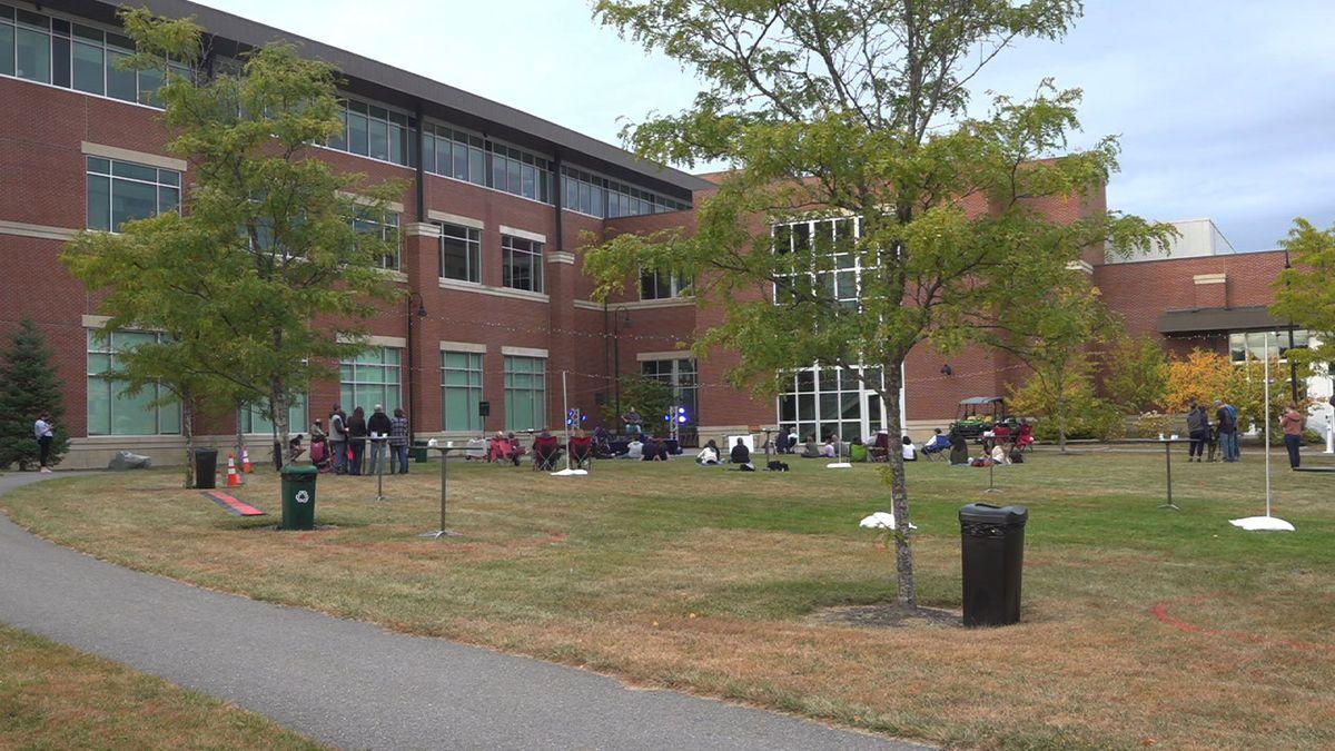 Cross Insurance Center in Bangor holds another 'Evening at Paul Bunyan Park'