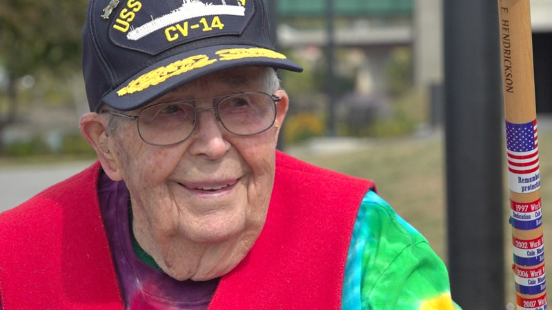 Ed Hendrickson turns 100 on November 14