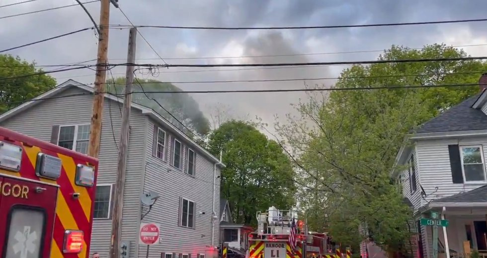 Bangor fire