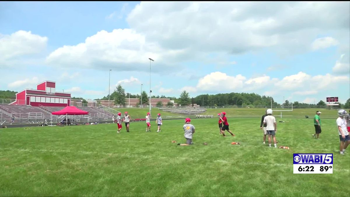 Maine Elite Passing Camp preparing football players hopeful for a season