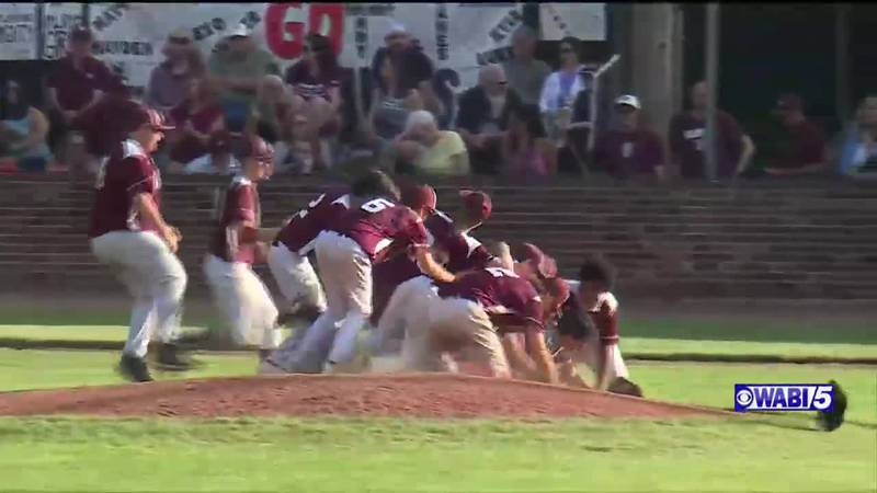 Orono blanks Monmouth for state class C baseball title