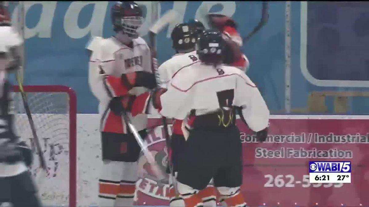Brewer hockey tops Presque Isle