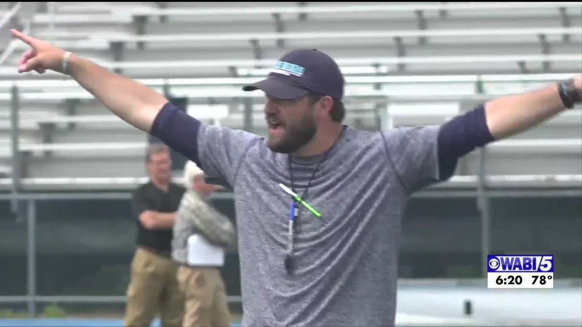 Coach Charlton gives an update on plan for UMaine football
