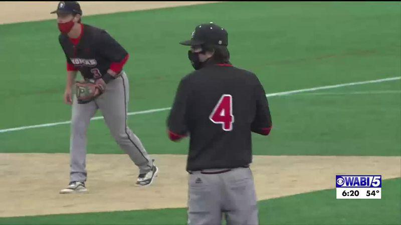 Thomas snaps Husson baseball's 15-game winning streak