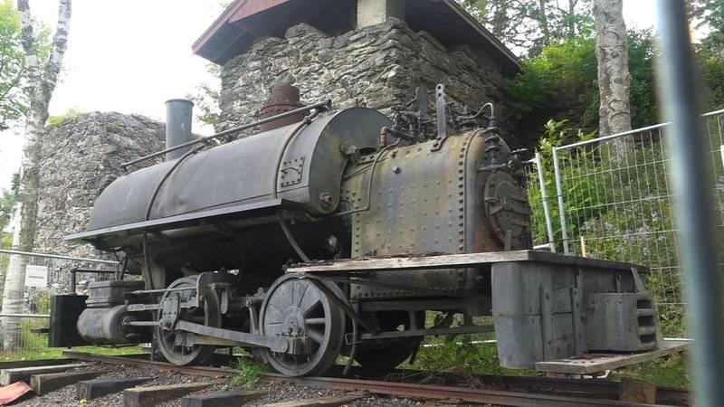 A historic locomotive in Marine Park in Rockport needs some restoration.
