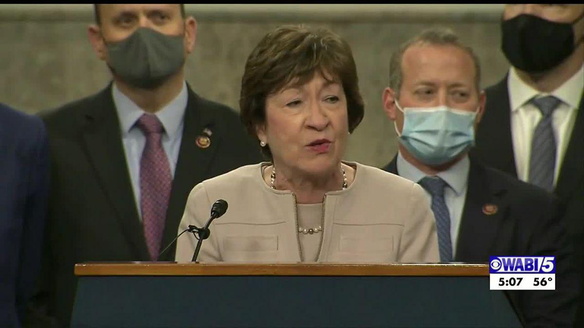 Senators King, Collins among others proposing $908 billion COVID-19 relief plan