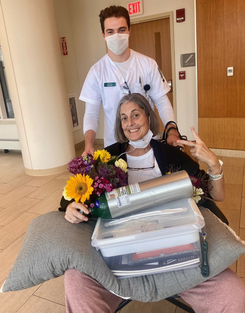 Winterport woman hospitalized with COVID for nearly a month, released Sunday afternoon