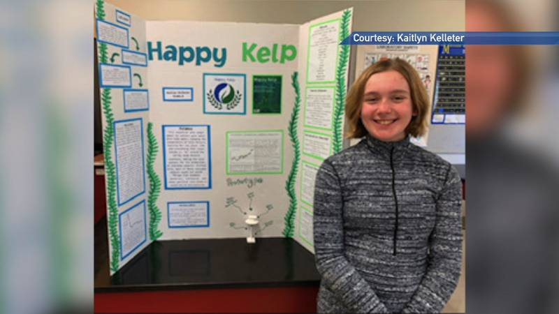 Kaitlyn Kelleter entered the 2021 Raytheon Technologies Invention Convention with an invention...