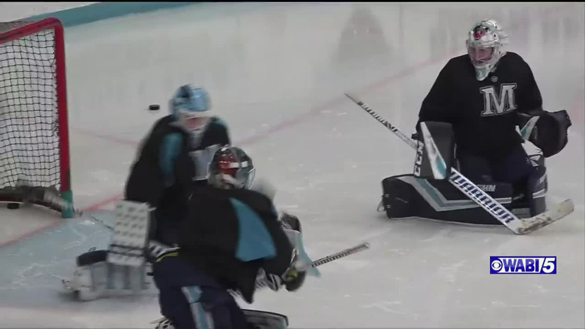 UMaine women's hockey goalie seizing moment she has waited years for