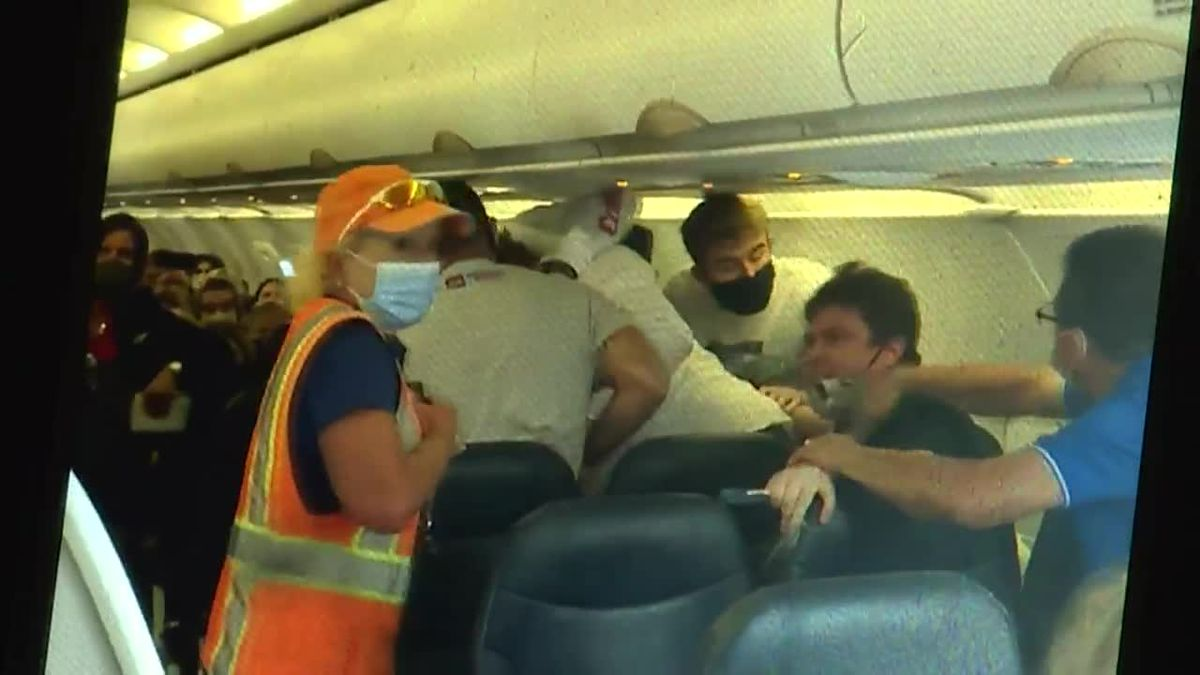 Following the violence surrounding last week's capitol riots, the Federal Aviation...