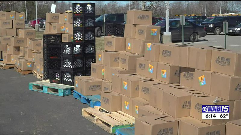 Waldo County food distributions help those in need during pandemic