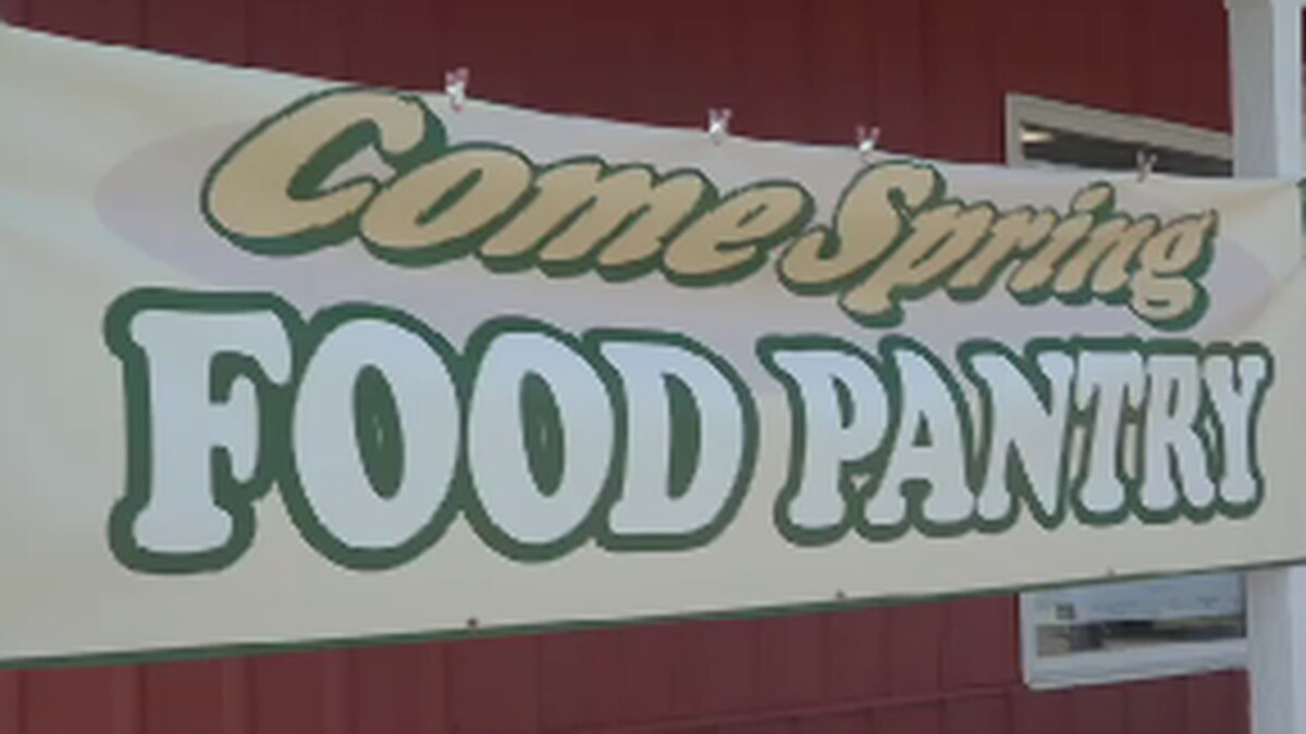 The Come Spring Food Pantry has already been helping people for more than 20 years in the town...