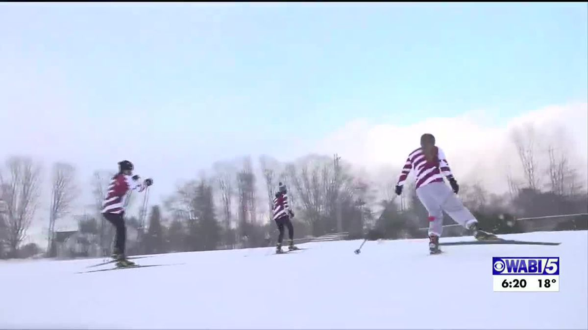 Orono nordic skiing is training hard, unable to have meets yet with no other local teams