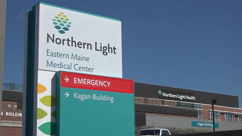 exterior of Northern Light Health Eastern Maine Medical Center