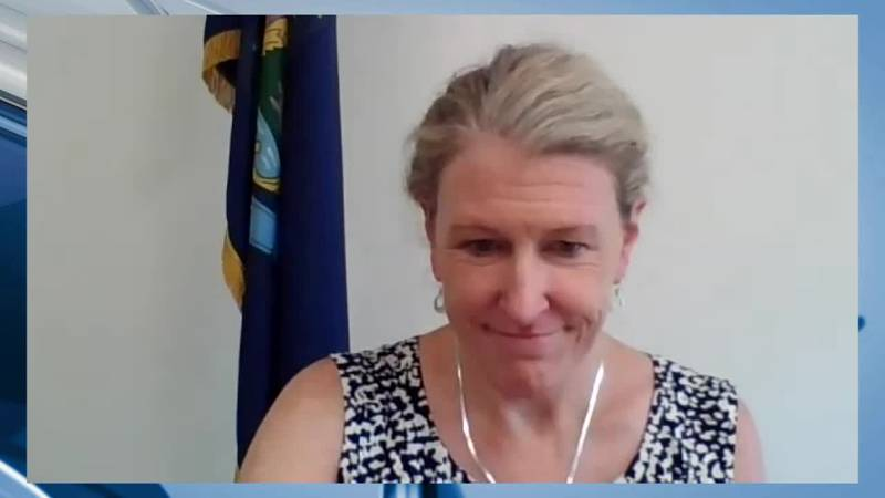 During Wednesday's Maine CDC briefing, DHHS Commissioner Jeanne Lambrew discussed potential...