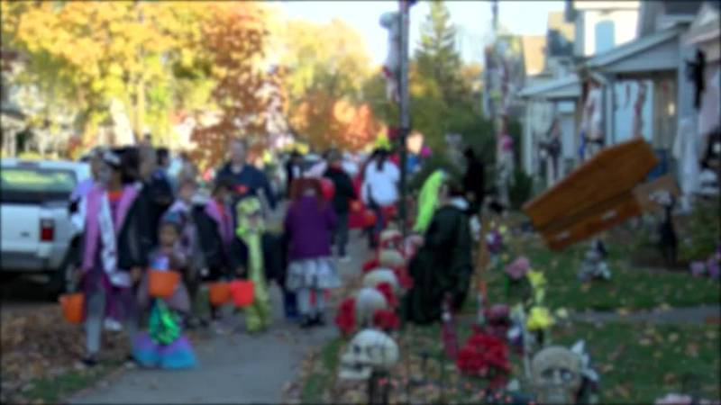 Halloween spending expected to break records this year.
