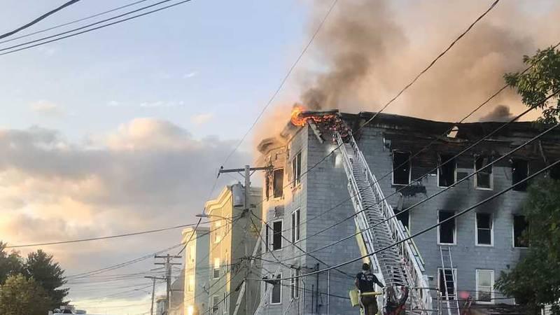 Sept. 11 fire on Blake Street in Lewiston.