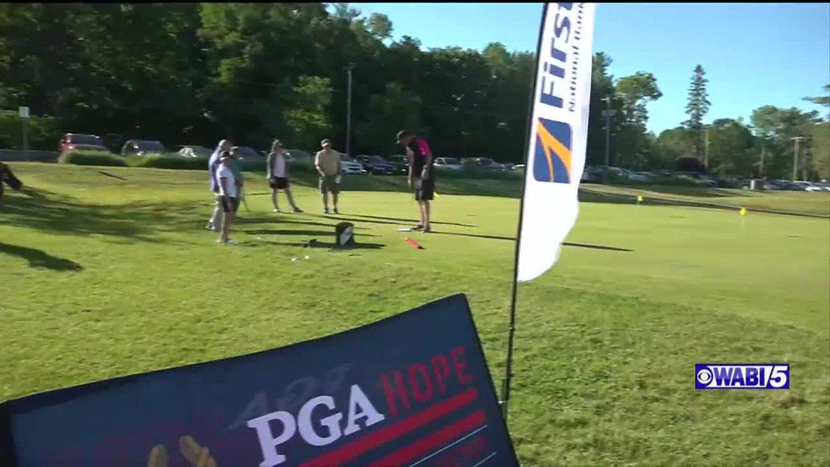Bangor Muni offering free golf clinic series for Veterans again through PGA HOPE program