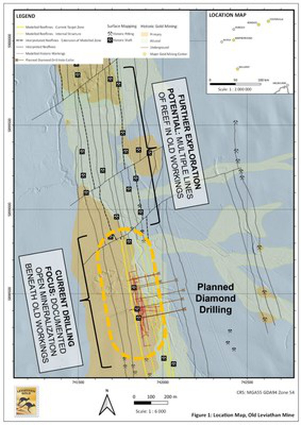 Figure 1: Location Map, Old Leviathan Mine (CNW Group/Leviathan Gold Ltd)